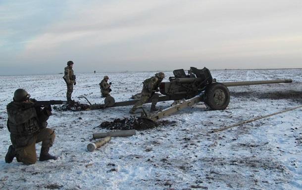 Обстрелы из танков и поврежденный газопровод. Карта АТО за 21 декабря
