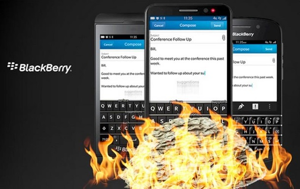 Boeing і BlackBerry випустять телефон, що самознищується
