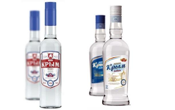 В российских магазинах появилась водка Наш Крым
