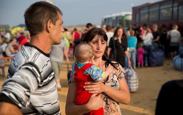 Переселенцям буде виплачуватися соцдопомога протягом півроку