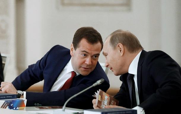Путін закликав уряд працювати, як у кризовому 2009 році
