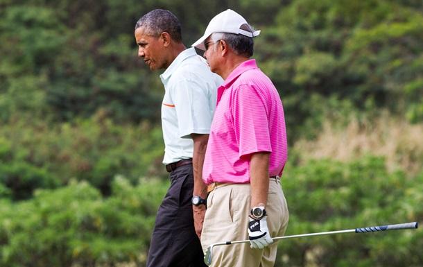 Малайзійці розкритикували свого прем єра за гру в гольф з Обамою