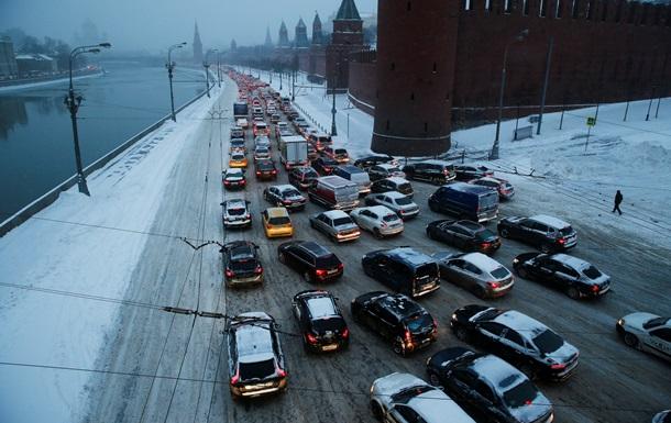 Москва установила рекорд по продолжительности 10-балльных пробок