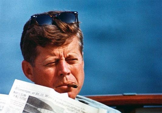 Кеннеди, как борец с финансистами.