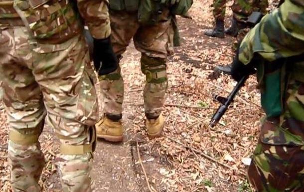 Правый сектор снял на видео, как побывал на позициях сепаратистов