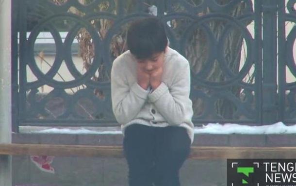 В Казахстане провели социальный эксперимент с замерзающим мальчиком