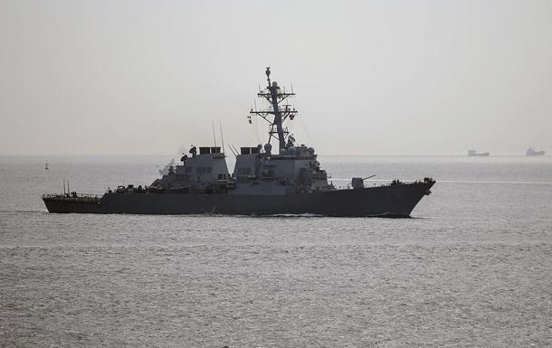 Американский боевой корабль направляется в Черное море