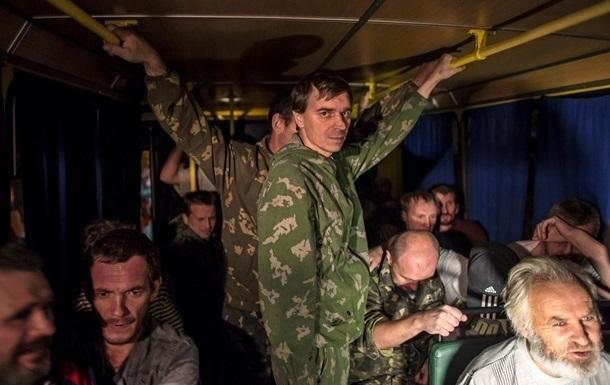 В Донецке началась погрузка пленных для обмена с Киевом