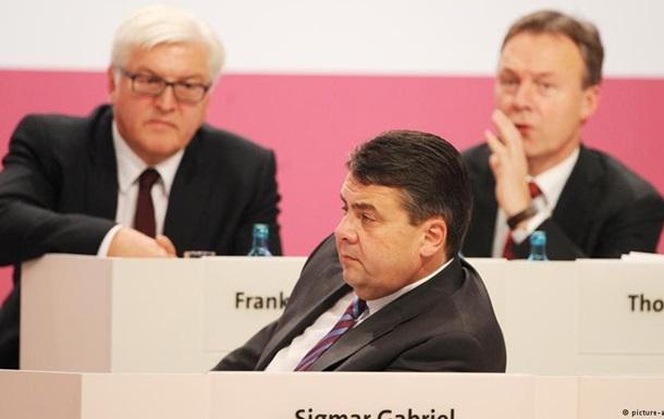Немецкие социал-демократы играют на руку Путину - СМИ
