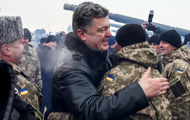 Порошенко назвал украинскую армию одной из самых сильных на континенте