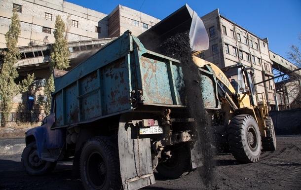 Запасы угля в Украине начали расти