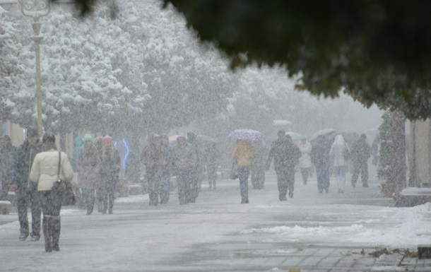 Сегодня по всей Украине объявлено штормовое предупреждение