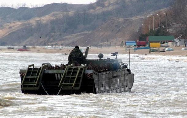 Саперы заминировали часть побережья Азовского моря