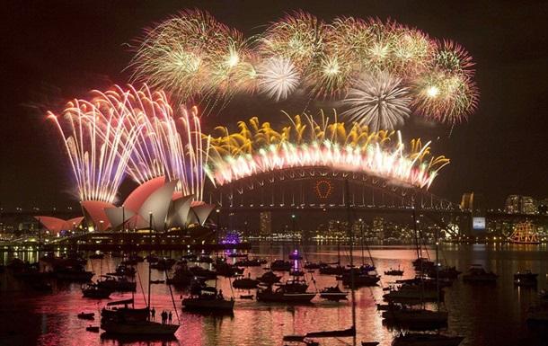 Австралия и Новая Зеландия уже празднуют 2015 год