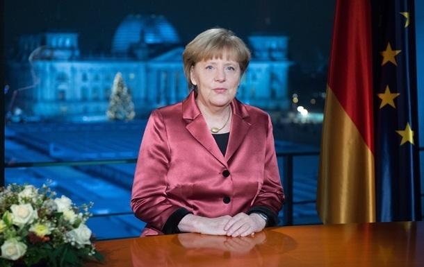 Меркель: Ключ к разрешению украинского кризиса - в европейском единстве