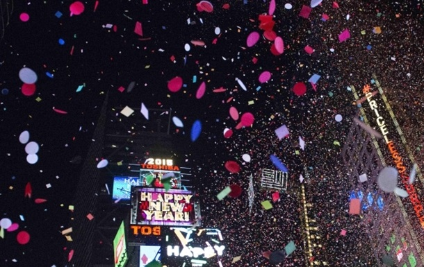 Как встречали Новый год в Нью-Йорке: фоторепортаж
