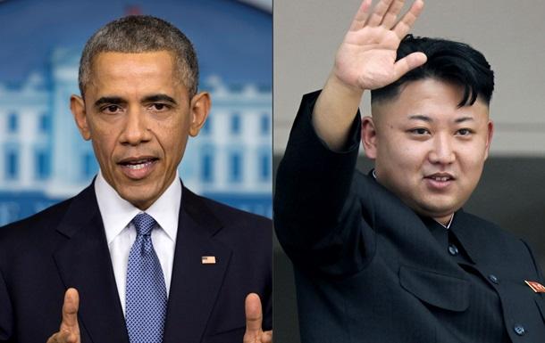 Обама ввів санкції проти керівництва КНДР