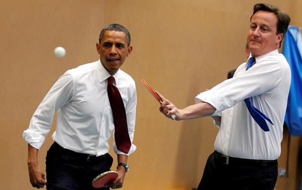 Кэмерон рассказал, что Обама называет его  братан