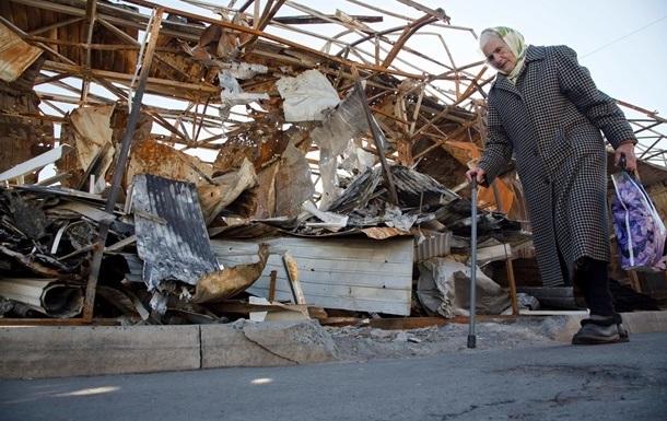 У Донецьку внаслідок обстрілу поранено дев ять жителів