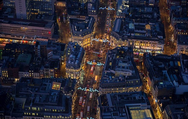 Британський фотограф показав Лондон-2014 з висоти пташиного польоту