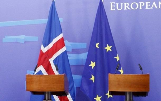 Ісландія має намір цього року відкликати заявку на вступ до ЄС