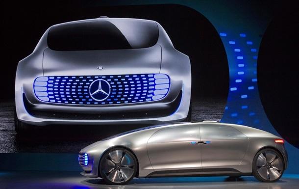 Кокон на колесах. Mercedes представил автомобиль будущего