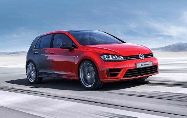 Volkswagen показал концепт Golf без кнопок в салоне