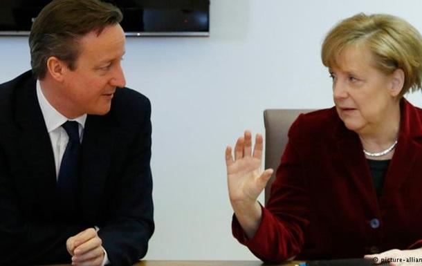 Меркель и Кэмерон хотят поднять конкурентоспособность ЕС