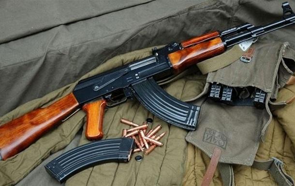 Под Москвой нашли склад с оружием