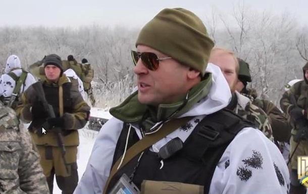 Прес-центр АТО зняв на відео  поребрик  з вуст сепаратиста- донеччанина