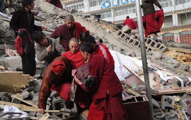 Землетрясение в Китае: более полутора тысяч пострадавших