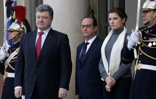 Порошенко обговорив з Меркель і Олландом підготовку до саміту в Астані
