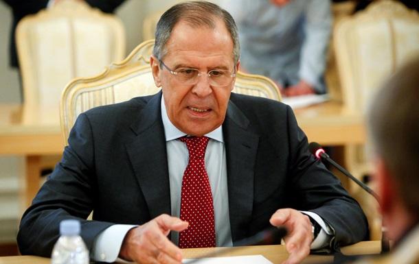 Россия не намерена обсуждать снятие санкций - Лавров