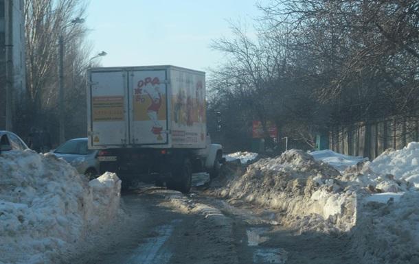 Хроники одичания Украины: к затянувшейся снежной катастрофе