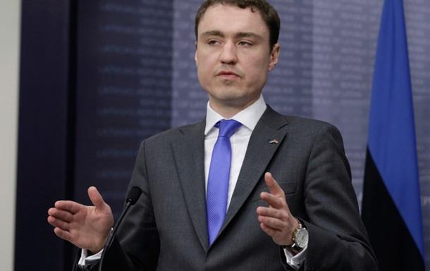 Премьер Эстонии сегодня посетит Украину