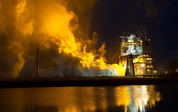 Усе ближче до Марса: NASA випробувала двигун найпотужнішої у світі ракети