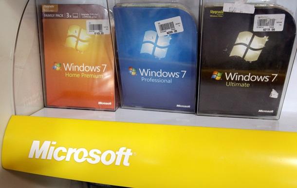 Microsoft припинила оновлення функцій Windows 7