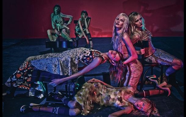 Украинская модель снялась в  фотосессии для W Magazine
