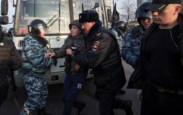 У Москві затримали чотирьох осіб за український гімн в авто