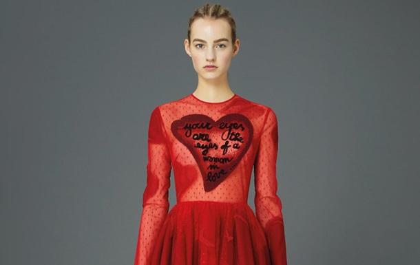 Модный дом Valentino представил новую коллекцию  Мир, любовь и гармония