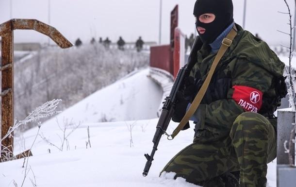 Обстрелы из  Буратино  и перегруппировка ДНР. Карта АТО за 14 января