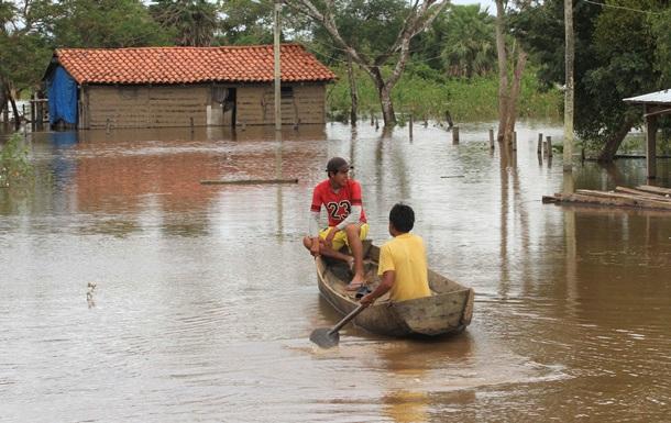 В Боливии проливные дожди: погибли 13 человек