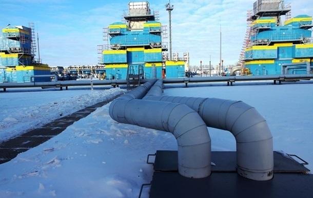 Украина увеличила отбор газа из хранилищ
