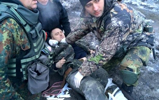 З донецького аеропорту евакуювали поранених бійців АТО