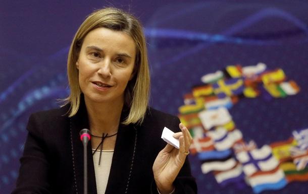 Могерини: Новые санкции против России сегодня не на повестке дня