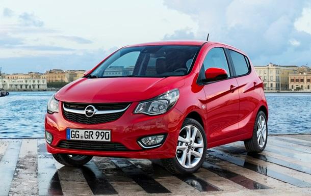Opel представит свой самый маленький автомобиль