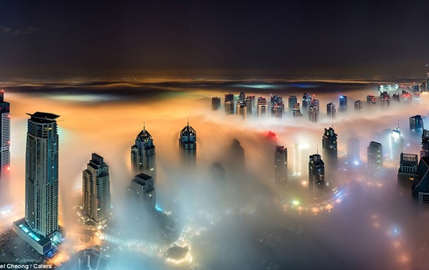 Місто в пустелі. Фотограф представив знімки, зроблені з хмарочосів Дубая