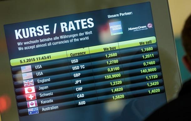 Долар знижується на міжбанку