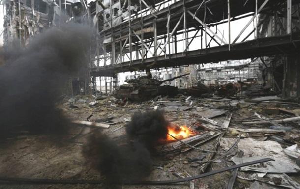 У полон в донецькому аеропорту потрапили до 11 українських військових