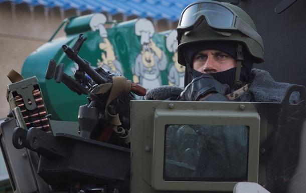 Силовики повідомляють про танкову атаку біля 29 і 31-го блокпостів